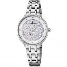 Festina Watch Woman Only Time Mademoiselle Collection Crystals