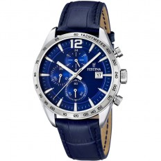 Festina Watch Man Chronograph Timeless Collection Blue