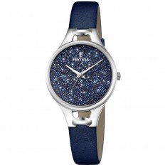Festina Watch Woman Only Time Mademoiselle Collection Glitter