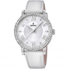 Festina Watch Woman Only Time Boyfriend Collection White