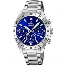 Festina Watch Woman Chronograph Boyfriend Collection Blue
