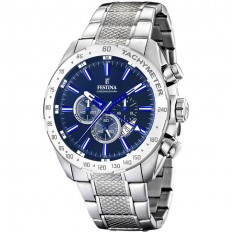 Festina Watch Man Chronograph Sport Collection Blue