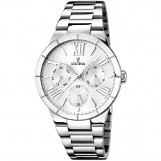 Festina Watch Woman Multifunction Mademoiselle Collection White