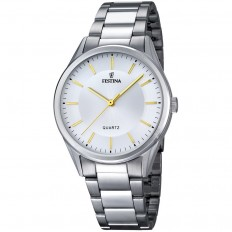 Festina Watch Man Only Time Acero Collection Silver
