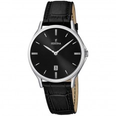 Festina Watch Man Only Time Correa Collection Black