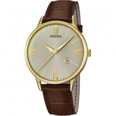 Festina Watch Man Only Time Correa Collection Brown