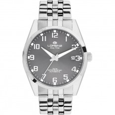 Lorenz Watch Man Automatic Easy Time Collection Dark Grey