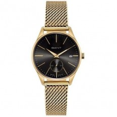 Gant Watch Woman Only Time Lawrence Lady Collection Gold Black