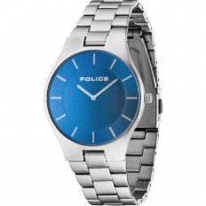 Police Watch Man Only Time Splendor Blue
