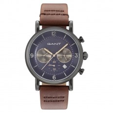 Gant Watch Man Chronograph Family Springfield Collection Brown Blue