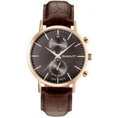 Gant Watch Man Multifunction Park Hill Collection Brown Black