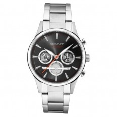 Gant Watch Man Multifuncion Ridgefield Collection Black Steel