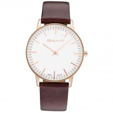 Gant Watch Man Only Time Denville Collection Brown White