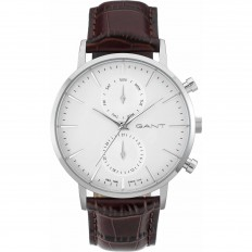 Gant Watch Man Multifunction Park Hill Collection Brown White
