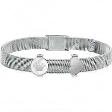 Morellato Bracciale Donna Collezione Sensazioni Silver Heart Crown