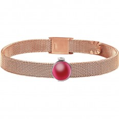 Morellato Bracelet Sensazioni Collection Rosegold Red Stone