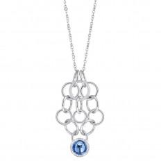 Morellato Collana Donna Collezione Essenza Heart Blue Stone