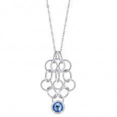 Morellato Necklace Woman Essenza Collection Blue Stone