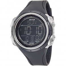 Sector Watch Unisex Digital Ex-22 Collection Black