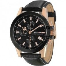 Sector Watch Man Chronograph 480 Collection Black
