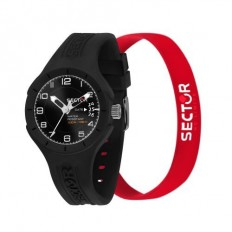 Sector Watch Unisex Only Time Speed Collection Black