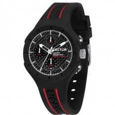 Sector Watch Unisex Multifunction Speed Collection Black Red