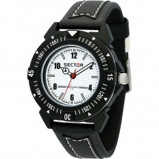 Sector Unisex Watch Only Time Expander 90 Collection Black White
