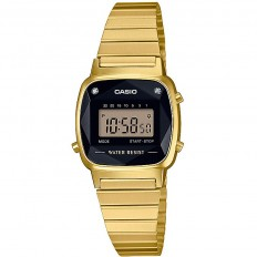 Casio Women's Digital Watch Vintage Mini Gold