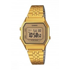 Casio Women's Digital Watch Vintage Gold