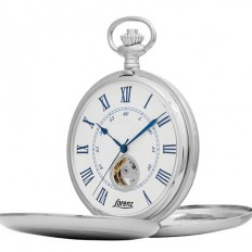 Lorenz Men's Pocket Watch Only Time Tasca Collection Silver