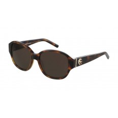 Rochas Paris Sunglasses Unisex Brown Tortoise 56
