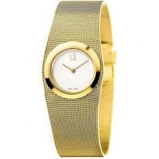 Calvin Klein Woman Only Time Impulsive Collection Gold White