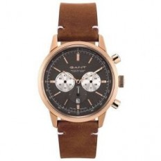 Gant Watch Man Chronograph Bradford Collection Brown Rosegold