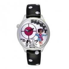 Braccialini Watch Unisex Only Time Tua Collection Beauty Black