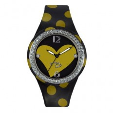 Braccialini Watch Unisex Only Time Tua Collection Yellow Heart