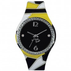 Braccialini Watch Unisex Only Time Tua Collection Black Fantasy
