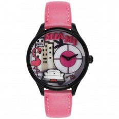 Braccialini Watch Unisex Only Time Tua Collection Miami Pink