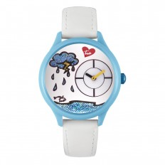 Braccialini Watch Unisex Only Time Tua Collection Rain