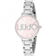Liu Jo Watch Woman Only Time Couple Collection Silver/Pink