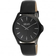Liu Jo Men's Watch Only Time Riva Collection Black Black