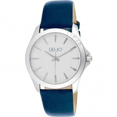 Liu Jo Men's Watch Only Time Riva Collection Blue Silver