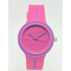 Superga Watch Child Only Time Fluo Pink