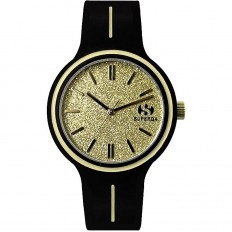 Superga Watch Woman Only Time Gold Glitter