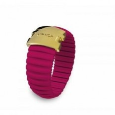 Hip Hop Ring Woman Icon Collection Fucsia