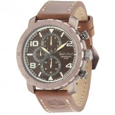 Timberland Watch Man Cronograph Norwood Collection Brown