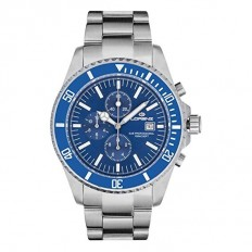 Lorenz Watch Mens Chronograph Watch Blue
