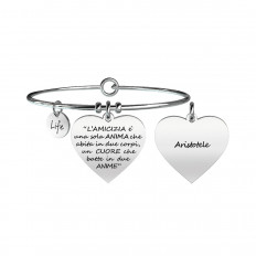 Kidult Women's Bracelet Love Collection Friendship Aristotle