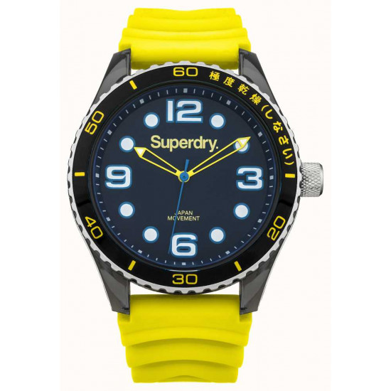 Superdry Watch Man Only Time Yellow